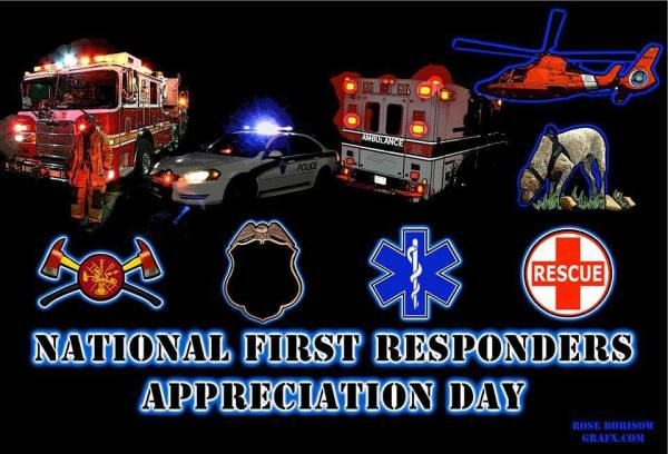 National First Responders Appreciation Day