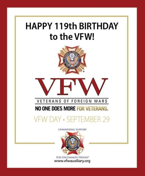 Happy Birthday to the VFW!